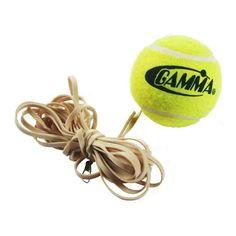 Gamma Tennis Trainer Replacement Ball, Yellow: Replacement ball for Gamma Tennis Trainer. Tennis Tips, Sport Tennis, Indoor Tennis, Babolat Tennis, Tennis Trainer, Tennis Equipment, Tennis Elbow, Tennis Clubs, Racquet Sports