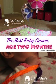 Here is a list of activities and games that our two month old really enjoyed!           We do activities twice a day, usually following a so...