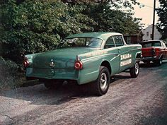 Gasser Madness ~ Looking For ~ Zagar & England 56 Ford Gasser