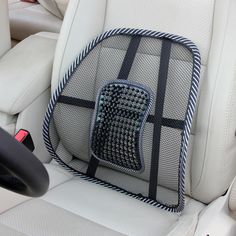 Orthopedics & Supports Massage Vent Mesh Lumbar Lower Back Brace Support Car Seat Chair Cushion Pad Car Seat Pad, Car Seat Cushion, Seat Pads, Cushion Pads, Chair Pads, Chair Cushions, Car Seats, Cushion Pillow, Back Support Pillow