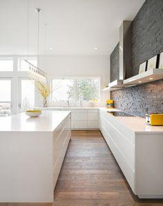 moderne küchen minimalistischer stil schöne küchenrückwand