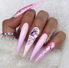 Lavender Stilettos