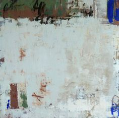 """Allison B. Cooke Bianchezza 30"""" x 30""""  oil/cold wax on panel"""