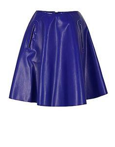 ASOS Fashion Finder   Solby Blue Skirt
