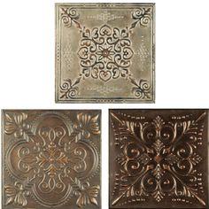 Embossed Metal Tiles