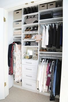 Closet Makeover Project