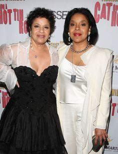 Debbie Allen and sister Phylicia Rashad  Deb-noted for movie FAME &  corg.,actress,dancer