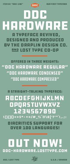 DDC Hardware - by Draplin Design Co.  — http://www.draplin.com