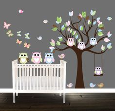 This large tree available in different sizes, or the custom size of your choice.    This decal can be sized and the color customized to suit your