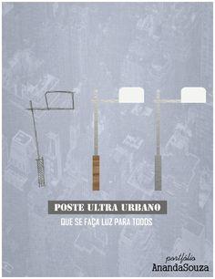 Cartaz de apresentação: poste Ultra Urbano.