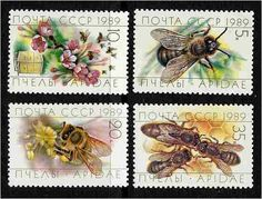 Stunning bee stamps