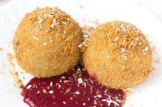 Vegane Marillenknödel aus Kartoffelteig - Healthy On Green