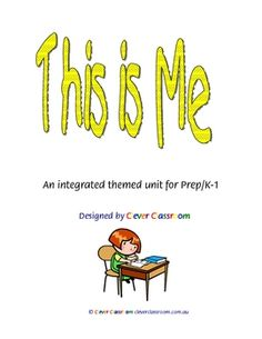 This is Me - Ebook - PDF file58 pages of worksheets and more.This popular unit has been planned for you. Save time collecting resources, th...