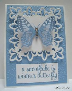 Love the use of Spellbinders -- use a different saying for other occasions, like anniversary or birthday