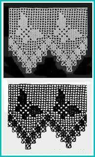 Easiest Crochet Frills Border Ever! Crochet Simple, Crochet Lace Edging, Crochet Borders, Crochet Stitches Patterns, Thread Crochet, Crochet Trim, Love Crochet, Irish Crochet, Crochet Doilies