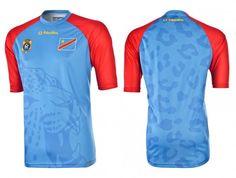 Camisas do RD Congo 2015 O'Neills Titular
