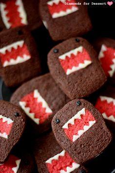 'Monstruosas' galletas tipo Oreo
