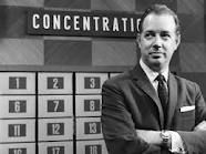 The game show...Concentration aired in Oct. 1958. One of the first game shows I remember watching.