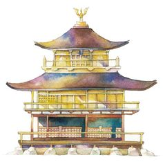 Pagoda by unknown artist