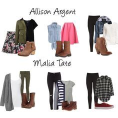Allison Argent and Malia Tate Outfits by thethunderchant on Polyvore featuring Madewell, Monki, Forever 21, Splendid, Betty Barclay, Aéropostale, Dorothy Perkins, Altuzarra, LE3NO and Abercrombie & Fitch