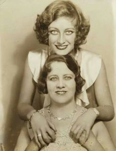 Joan and her mom// Did they get along? Not according to, Joan Crawford: Hollywood Martyr