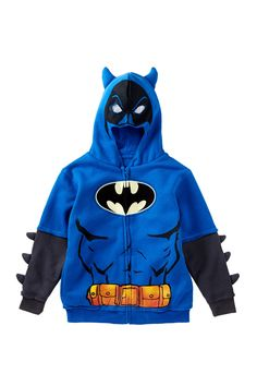DX-Xtreme | DX-Xtreme Batman Hoodie (Little Boys) | Nordstrom Rack