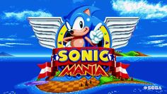 Image result for sonic mania title screen