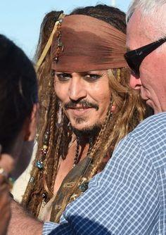 ''Pirati dei Caraibi 5'', Johnny Depp sul set in Australia - Spettacoli - Repubblica.it