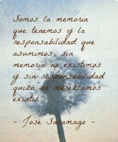 Estupenda frase de José Samaniego...