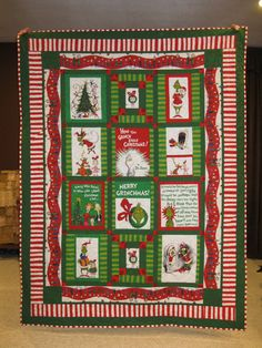 30 Grinch Quilts Ideas Quilts Panel Quilts Christmas Quilts