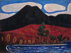 Marsden Hartley, Mt. Katahdin, Maine, No. 2, 1939-40.