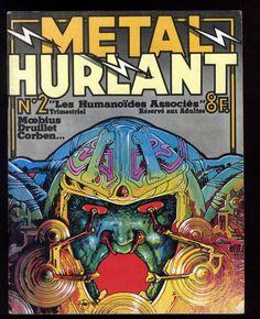 METAL HURLANT n°2  MOEBIUS / DRUILLET / CORBEN  2ème trimestre 1975