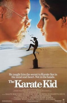 The Karate Kid (1984), Ralph Macchio.  Wipe on, wipe of,f Daniel son. We all loved Ralph!