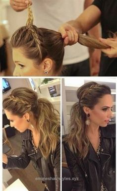 Terrific 2014 Ponytail Hairstyle: Side Lace Braid Ponytail Hairstyle The post 2014 Ponytail Hairstyle: Side Lace Braid Ponytail Hairstyle… appeared first on Emme's Hairstyles .