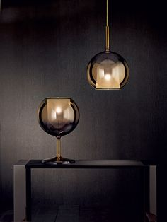 Glo Table lamp, Contemporary Living Room Lighting Design at Cassoni.com