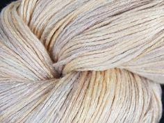 Organic 100% bamboo yarn Vapor  hand dyed yarn vegan by Klarabela