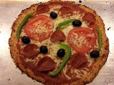Caluiflower Pizza crust