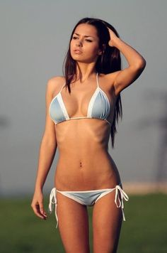 Russian Teen Bikini Model