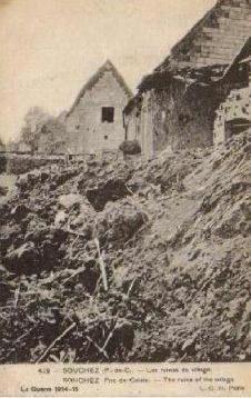 SOUCHEZ (les ruines du village)