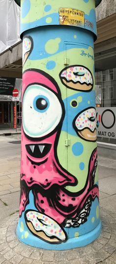 street art - bergen - donuts