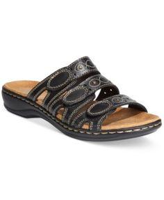 0714b9db137 Clarks Collection Women s Leisa Cacti Q Flat Sandals Shoes - Sandals   Flip  Flops - Macy s