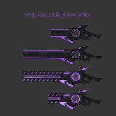 Void railgunblade by KiBoune.deviantart.com on @DeviantArt
