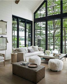 Awesome 88 Cozy Winter Living Room Decoration Ideas. More at http://88homedecor.com/2018/01/02/88-cozy-winter-living-room-decoration-ideas/