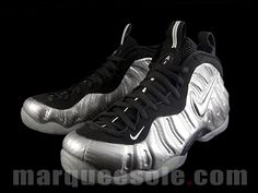 The Nike Air Foamposite Pro Silver Surfer Drops Next Year