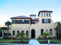 Mediterranean House Plan with Custom Features - 93089EL | 1st Floor Master Suite, Butler Walk-in Pantry, CAD Available, Corner Lot, Den-Office-Library-Study, Florida, Luxury, Media-Game-Home Theater, Mediterranean, PDF, Photo Gallery, Spanish | Architectural Designs