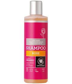 Urtekram Shampoing à la Rose cheveux secs 250ml