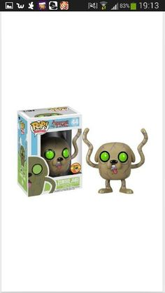 Adventure time- zombie jake pop doll