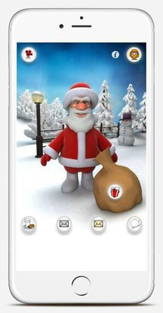 Talking Santa app: Fun Christmas apps for kids
