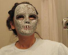 DIY Death Eater Mask ♥