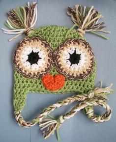 Baby Owl Beanie